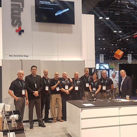 KBIS 2018: Great Interest for Titus Products in the US